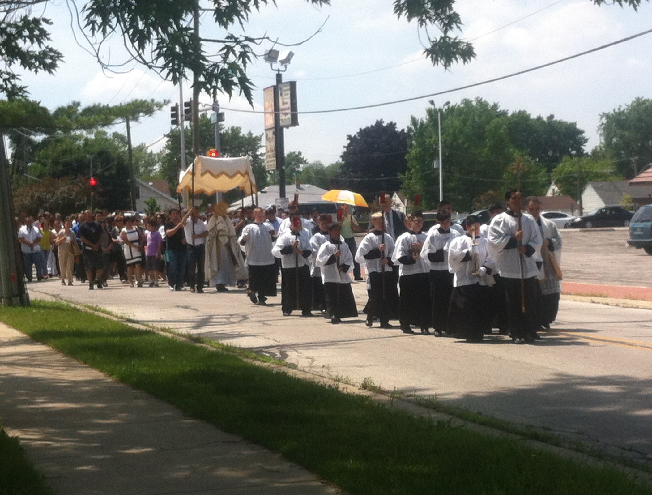 1 The Procession